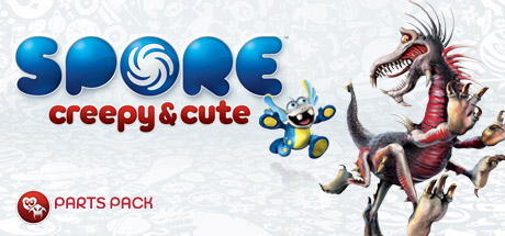 SPORE™ Creepy & Cute Parts Pack Cover Image