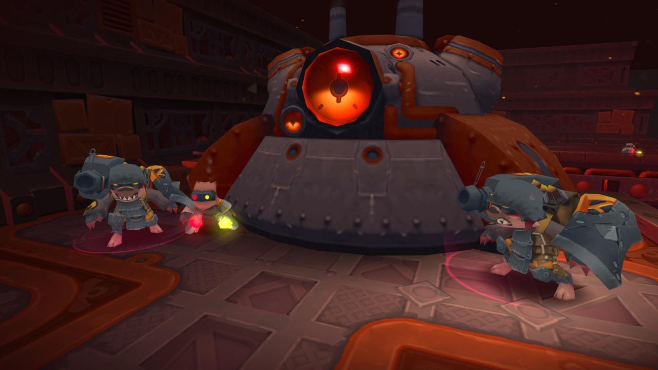 Spiral Knights: Operation Crimson Hammer on Steam