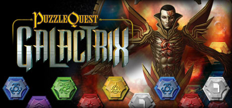 Puzzle Quest: Galactrix Cover Image