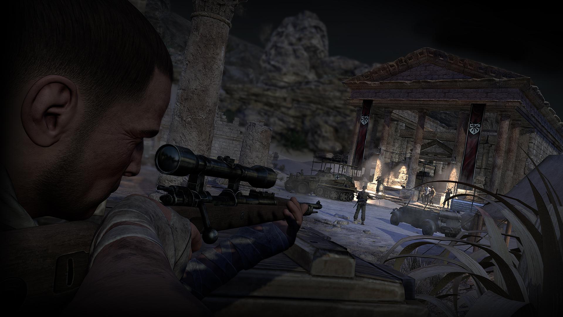 Sniper elite 3 for macular degeneration