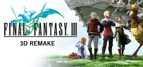 Final Fantasy III (3D Remake) Cover Image