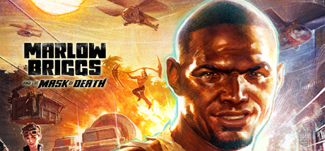 Marlow Briggs and the Mask of Death Cover Image