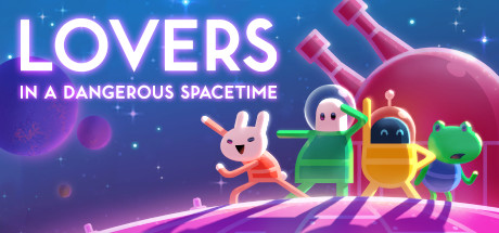 Lovers in a Dangerous Spacetime Cover Image