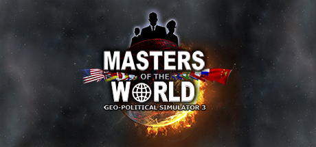 Masters of the World - Geopolitical Simulator 3 Cover Image