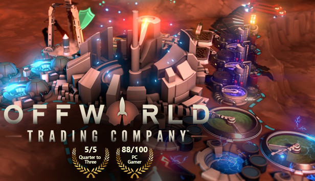 Save 55% on Offworld Trading Company on Steam