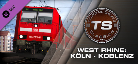 Train Simulator: West Rhine: Köln – Koblenz Route Add-On