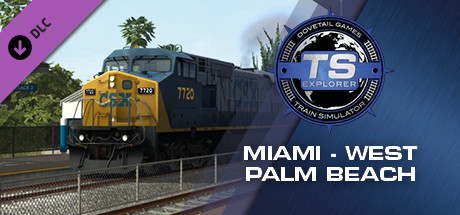 Train Simulator: Miami - West Palm Beach