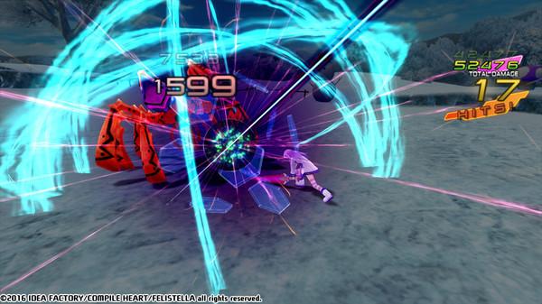 Hyperdimension Neptunia Re;Birth1 Captura 2
