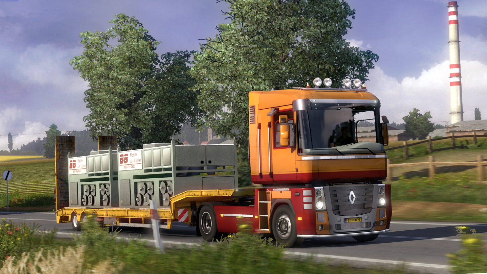 Euro truck simulator 2 - high power cargo pack for macbook pro