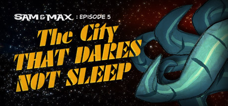Sam & Max 305: The City That Dares Not Sleep Cover Image