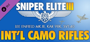 Sniper Elite 3 - International Camouflage Rifles Pack