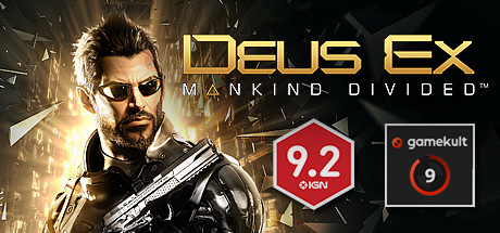 Deus Ex: Mankind Divided Cover Image