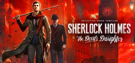 Sherlock Holmes: The Devil's Daughter Cover Image