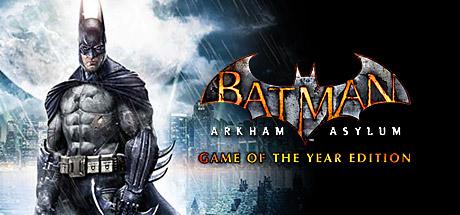 Batman: Arkham Asylum Game of the Year Edition Cover Image