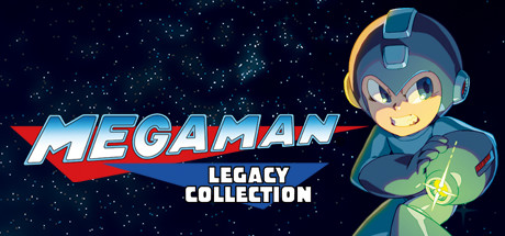 Mega Man Legacy Collection Cover Image