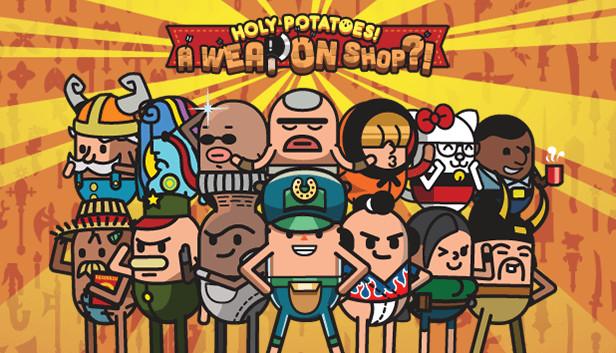 Сэкономьте 90% при покупке Holy Potatoes! A Weapon Shop?! в Steam