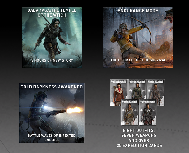 tomb raider 20 year celebration ps4 cards