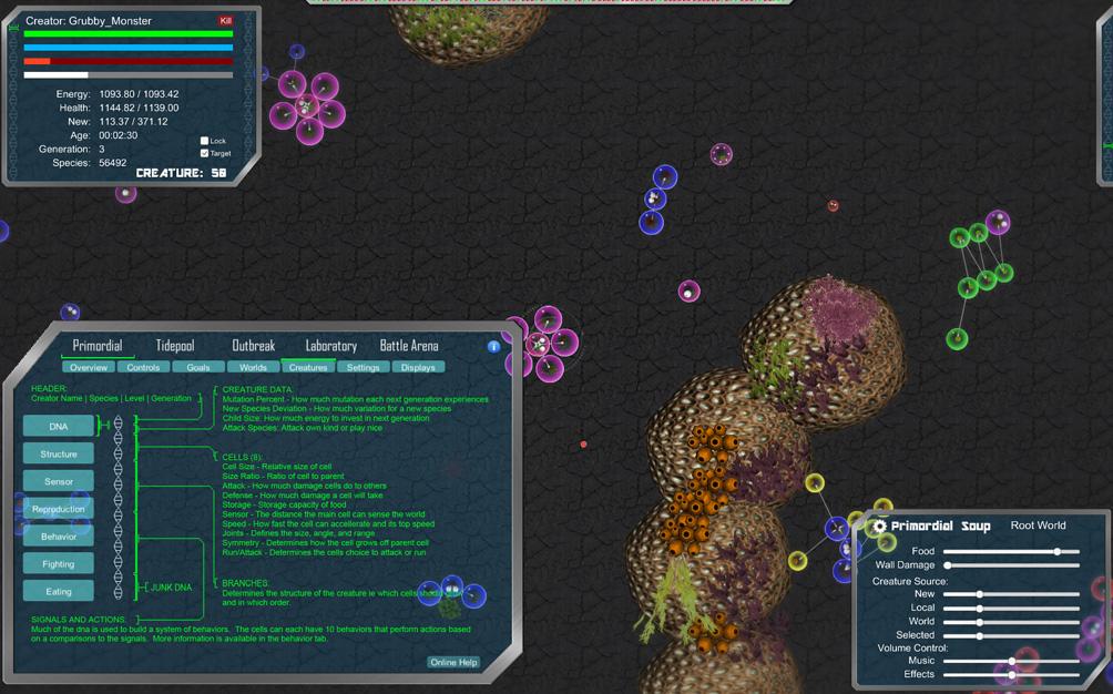 Creature evolution online games ho chunk casino cigarettes
