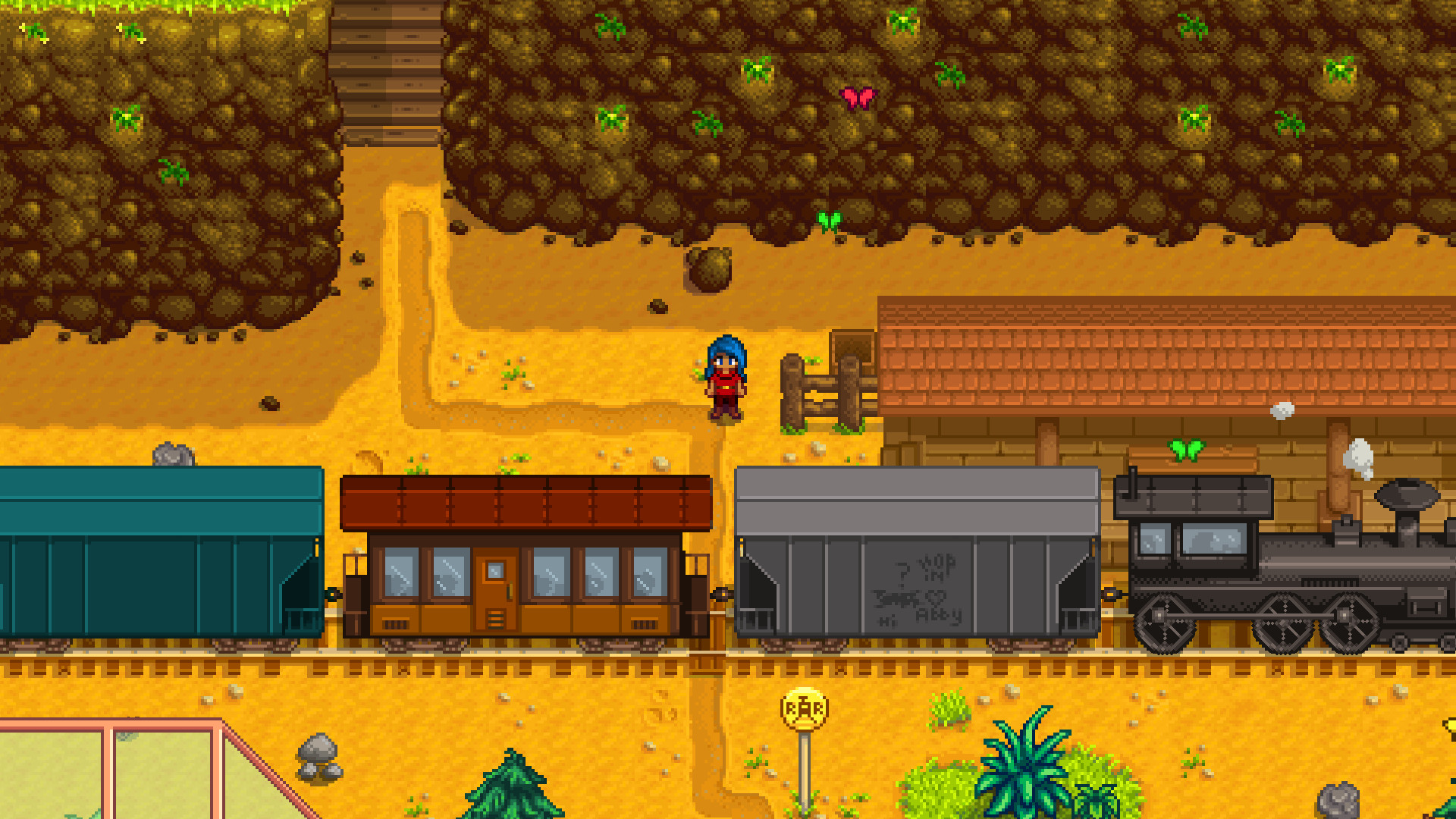 Stardew Valley On Steam Whether you upgrade your house, coop, barn, or whatever else, they will always stay the same size on the outfit. stardew valley