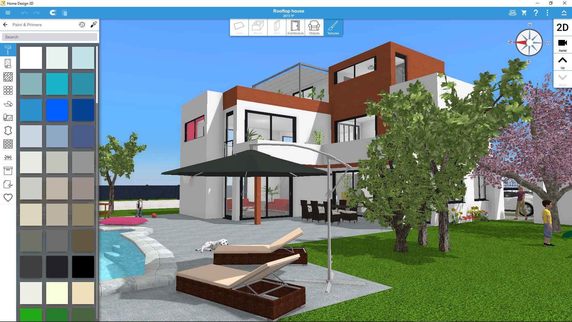 Build a 3d house online