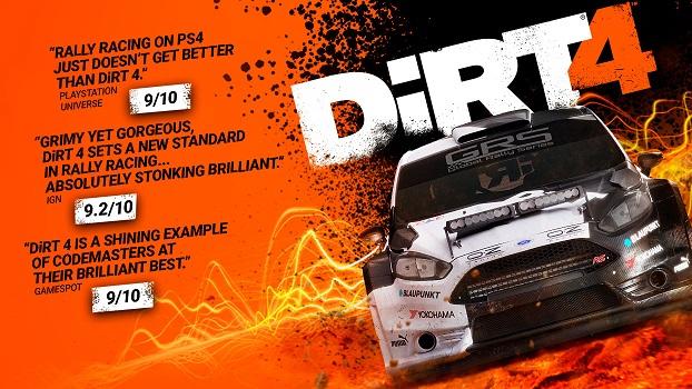 DiRT 4 on Steam
