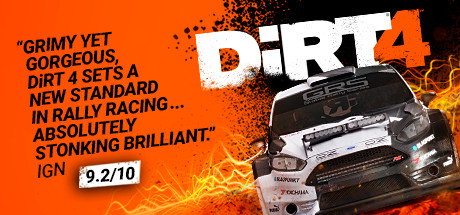 DiRT 4 Cover Image