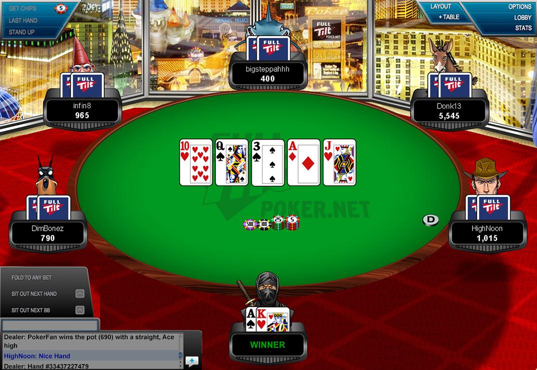 Покер онлайн full tilt как в герои 3 играть в свою карту