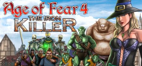 Age of Fear 4 The Iron Killer Capa