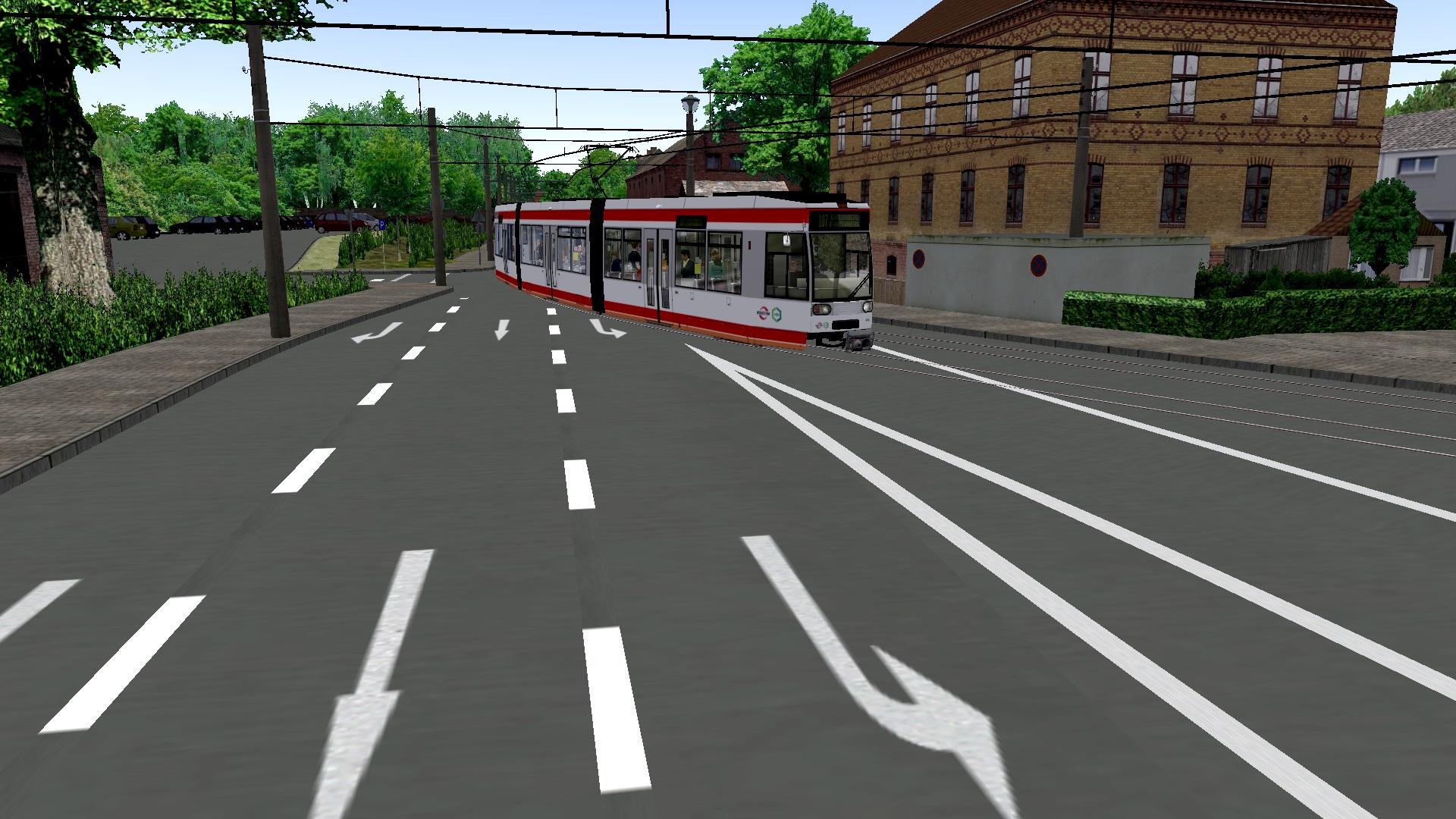 Essen gelsenkirchen strassenbahn 107 Route: