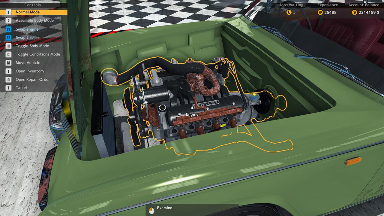 Car mechanic simulator 2015 - bentley for mac osx