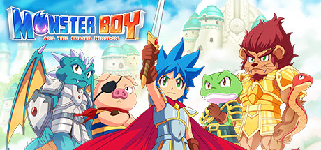 Monster Boy and the Cursed Kingdom Cover Image