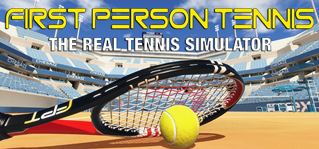 First Person Tennis - The Real Tennis Simulator VR Cover Image