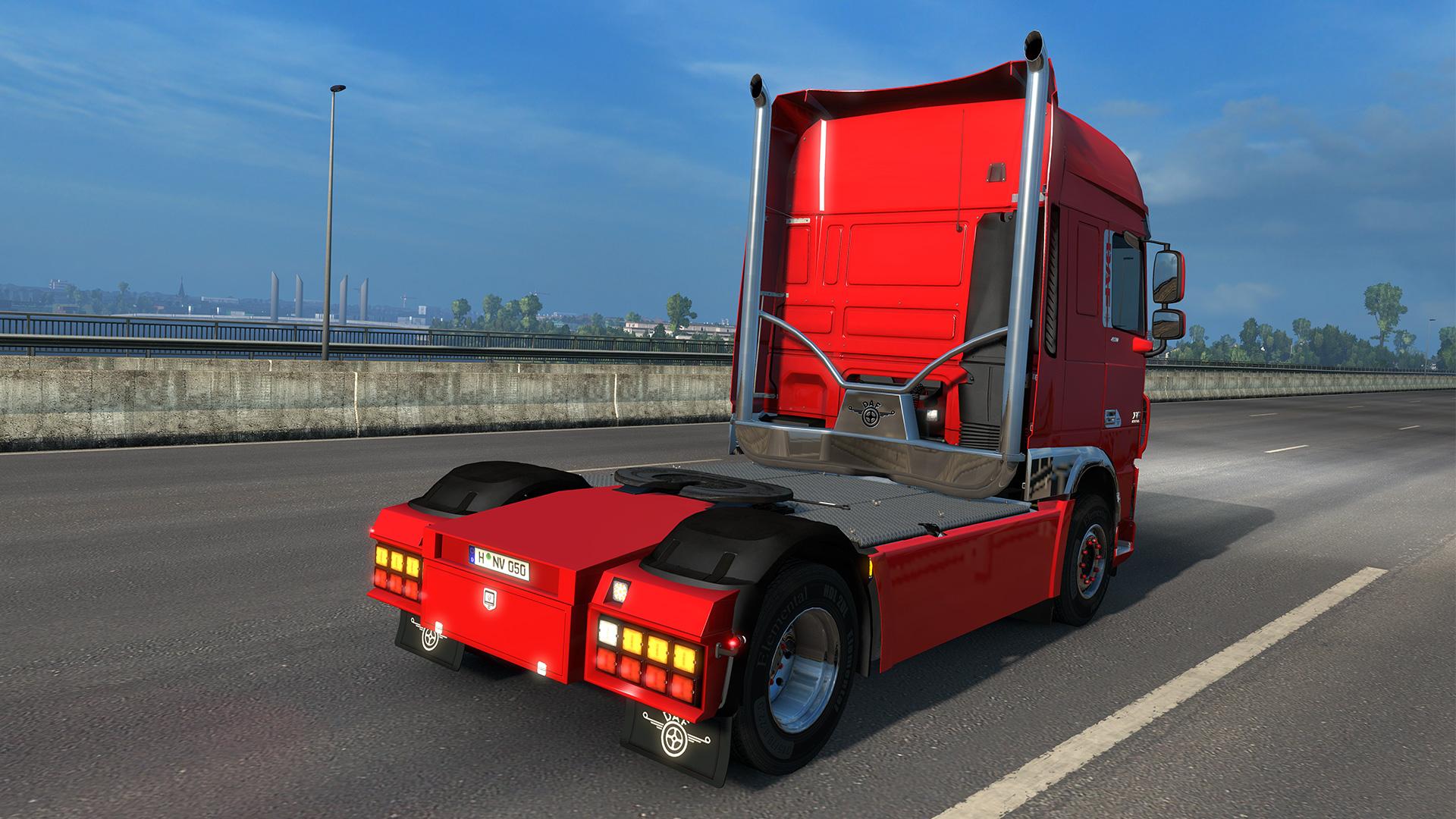 Euro truck simulator 2 - xf tuning pack cracked