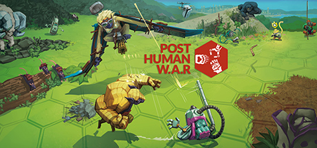 Post Human W.A.R Cover Image