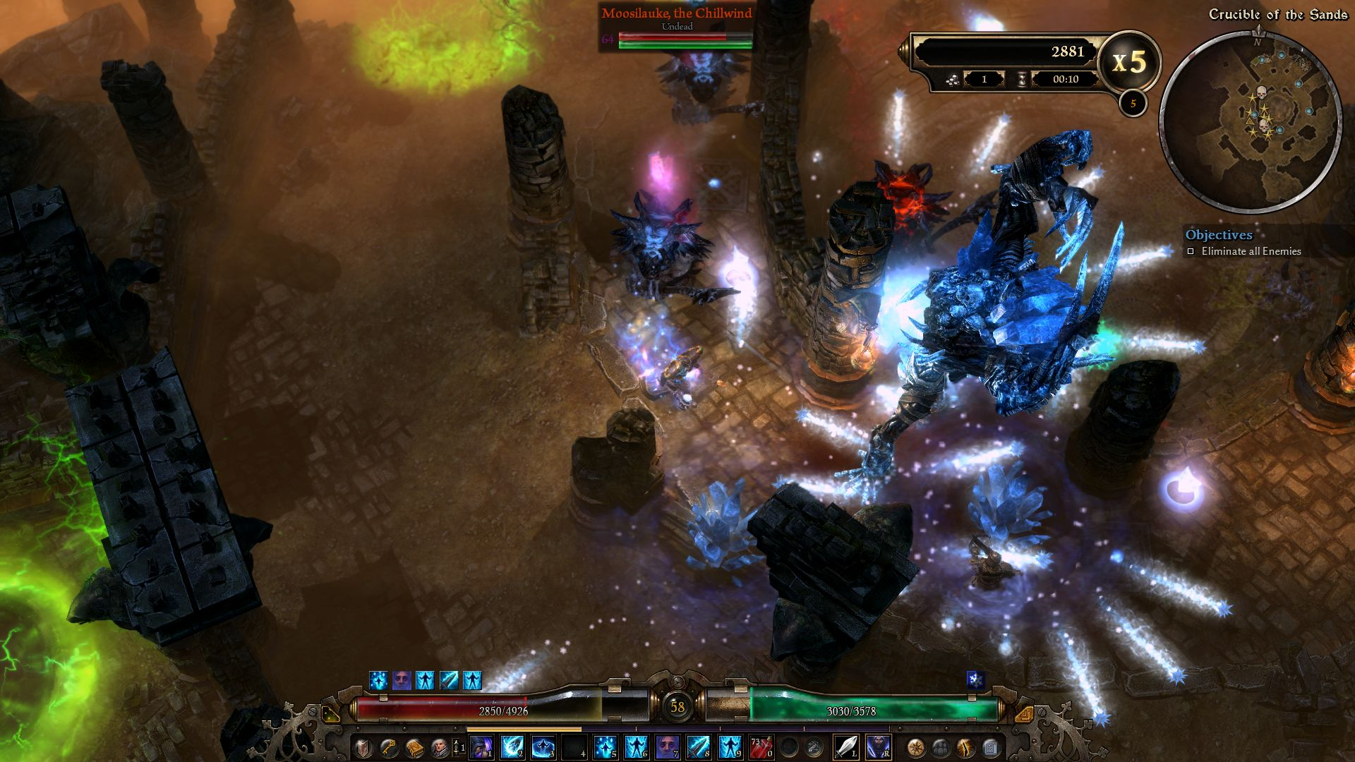 Grim Dawn Crucible Mode Dlc On Steam