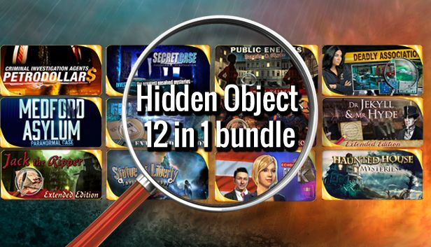 Hidden Object 12 In 1 Bundle On Steam
