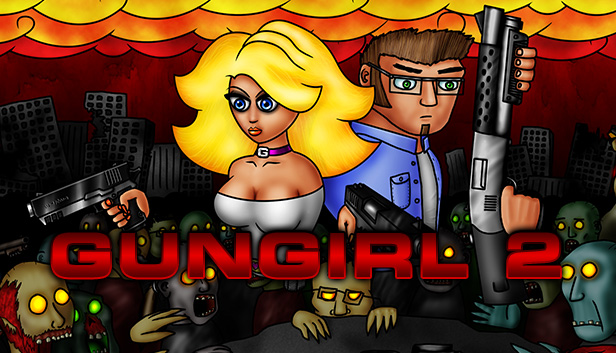 Gungirl 2 On Steam Вы играете за пергидрольную блондинку (похожую на памелу андерсон) в полном военном вооружении. gungirl 2 on steam