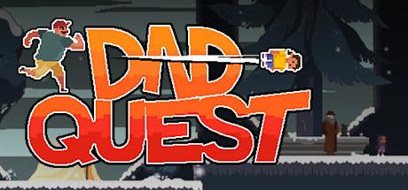 Dad Quest   Story Platformer Adventure Cover Image