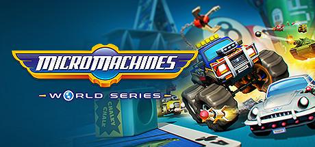 Micro Machines World Series Cover Image