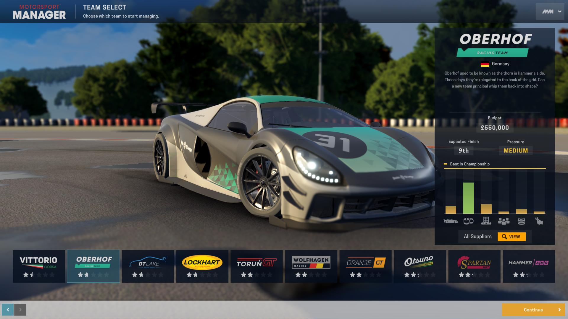 Motorsport Manager Gt Series On Steam