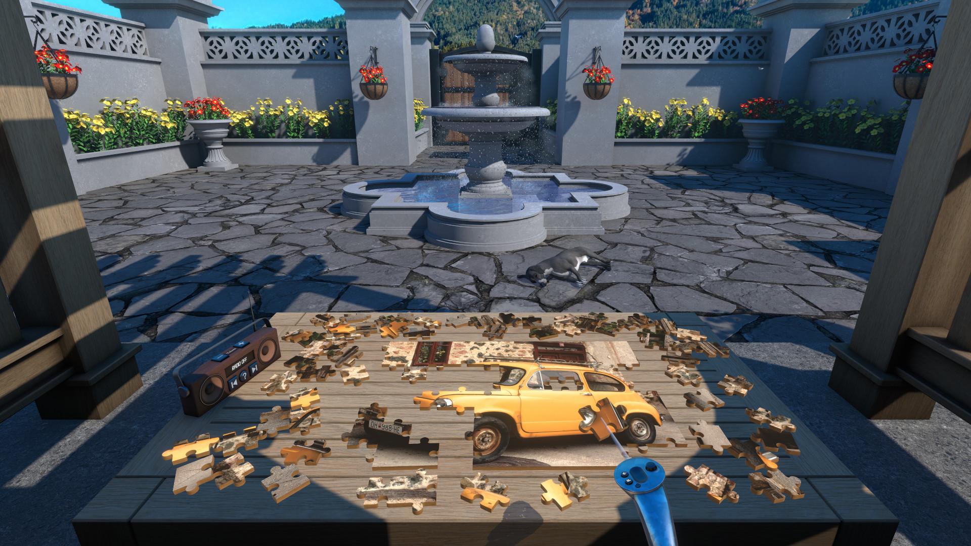 Oculus Quest 游戏《Jigsaw Puzzle VR》超级拼图 VR插图(1)