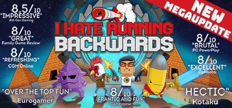I Hate Running Backwards Cover Image