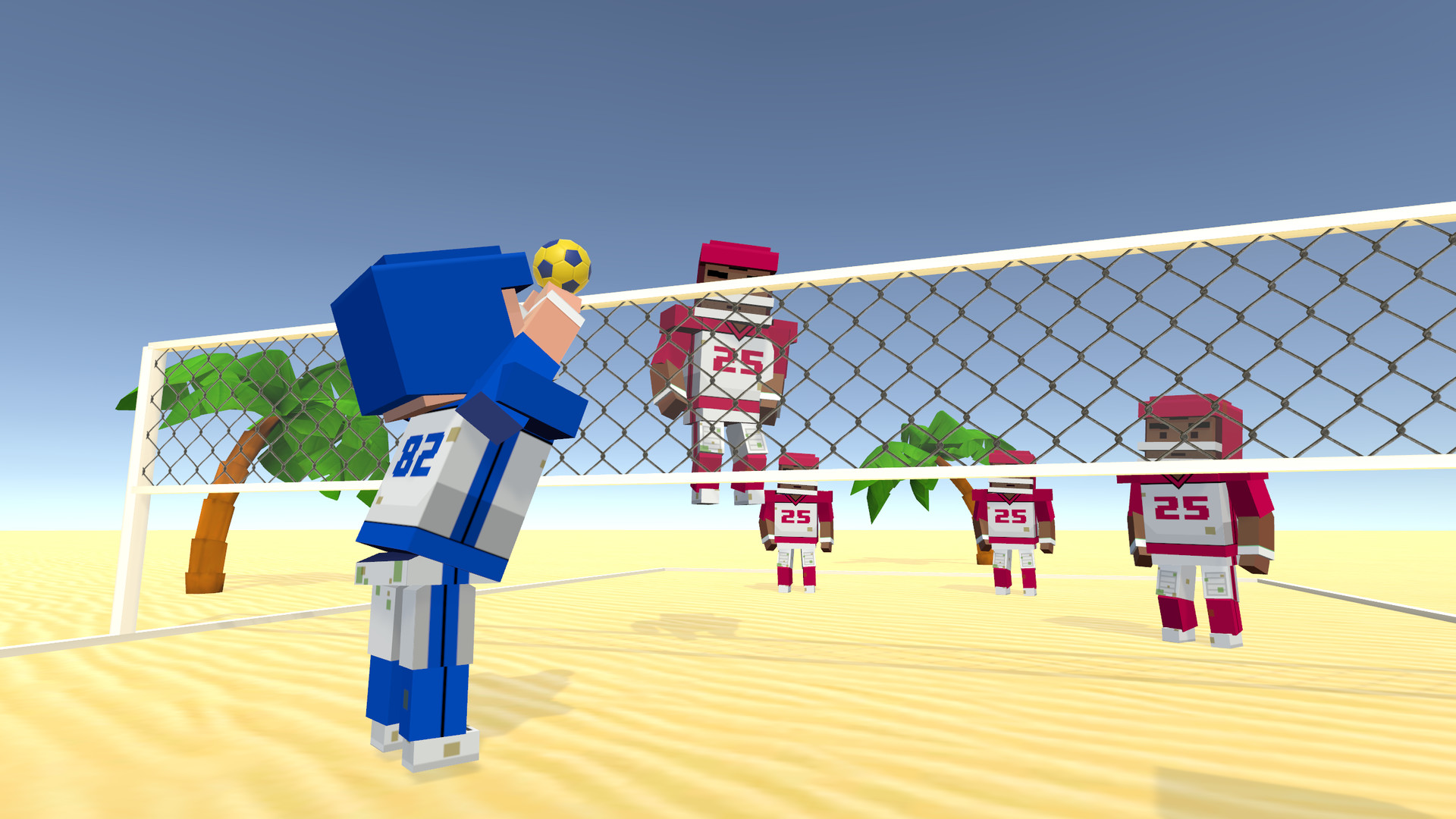 Oculus Quest 游戏《Volleyball Fever》狂热排球插图