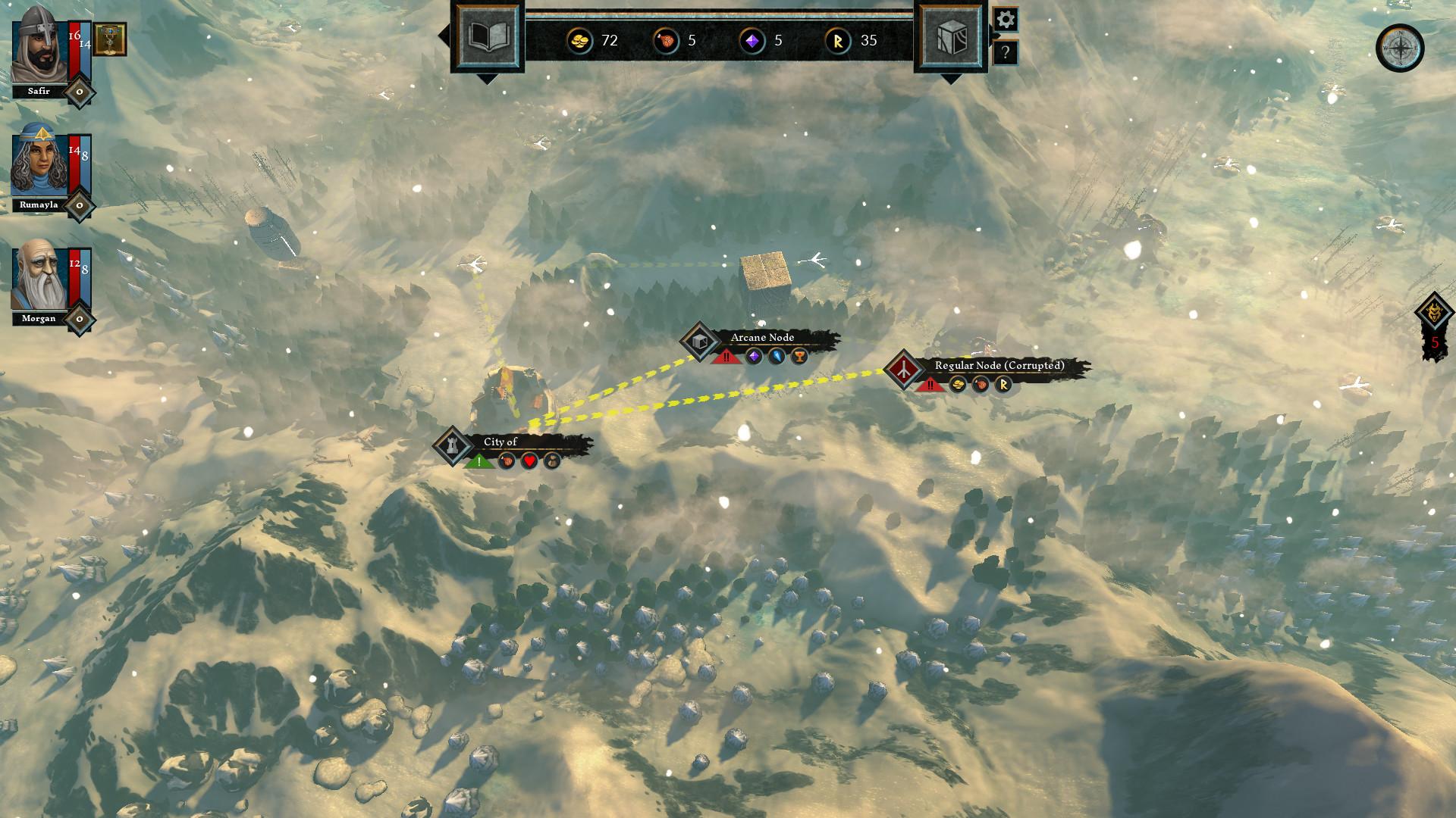 The Hand of Merlin screenshot 3