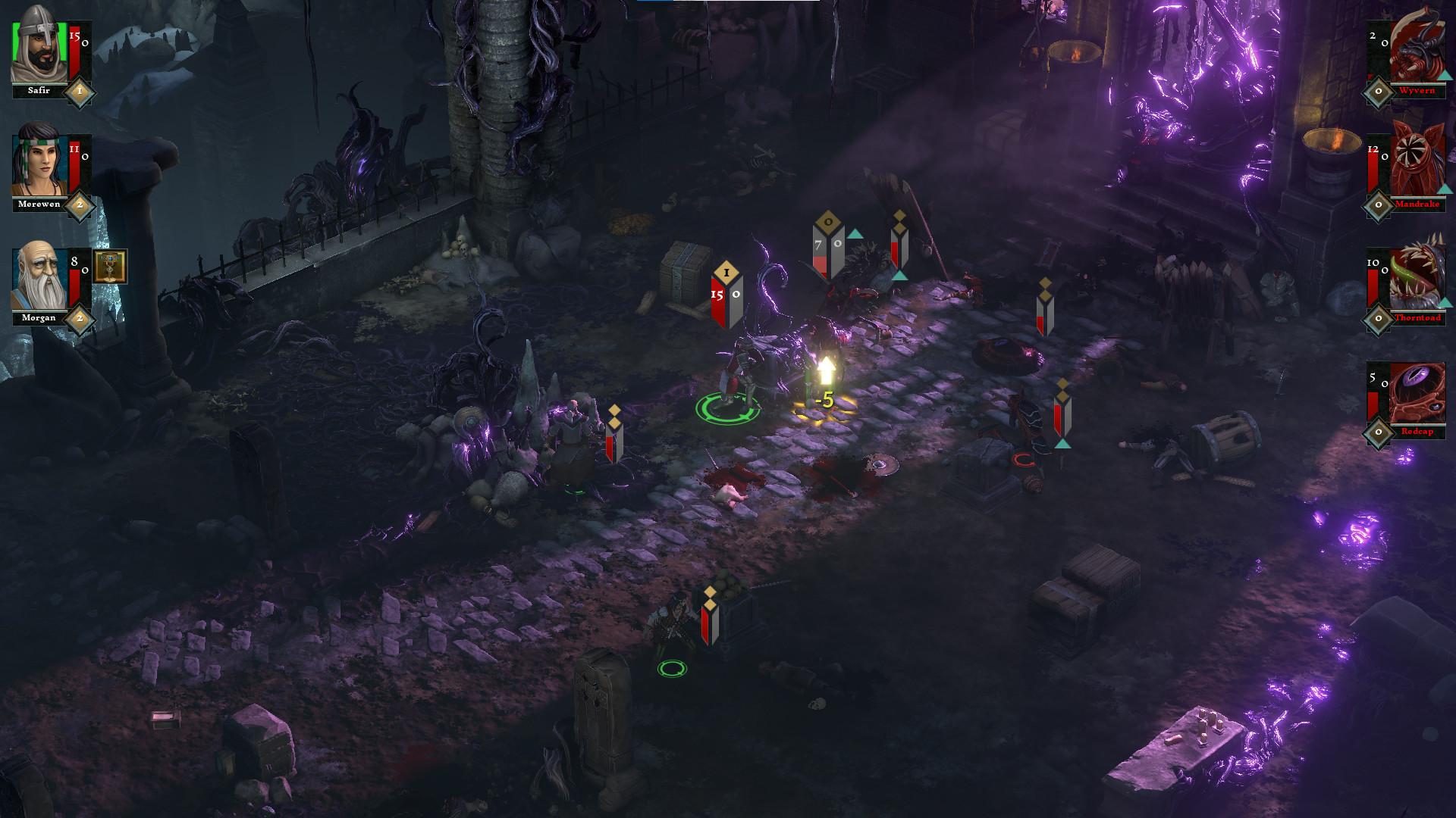 The Hand of Merlin screenshot 1