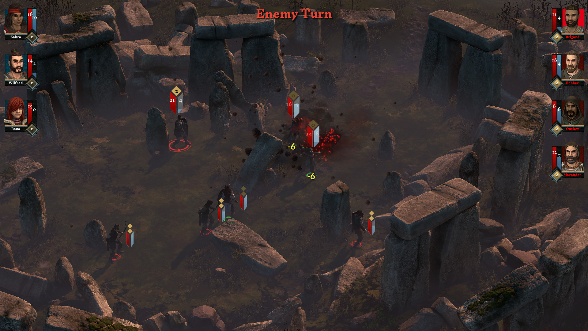 The Hand of Merlin screenshot 2