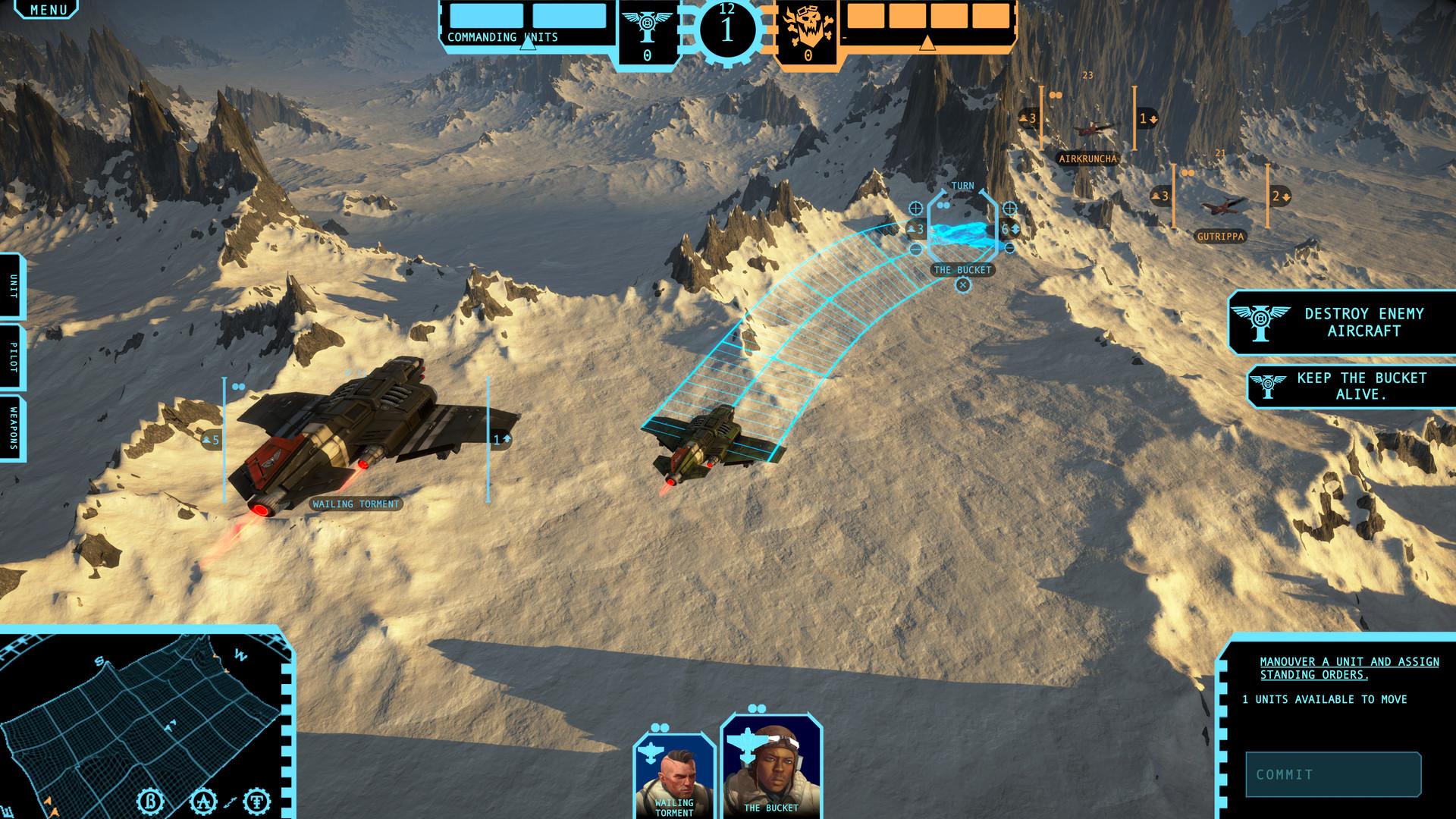 Aeronautica Imperialis: Flight Command Screenshot 2