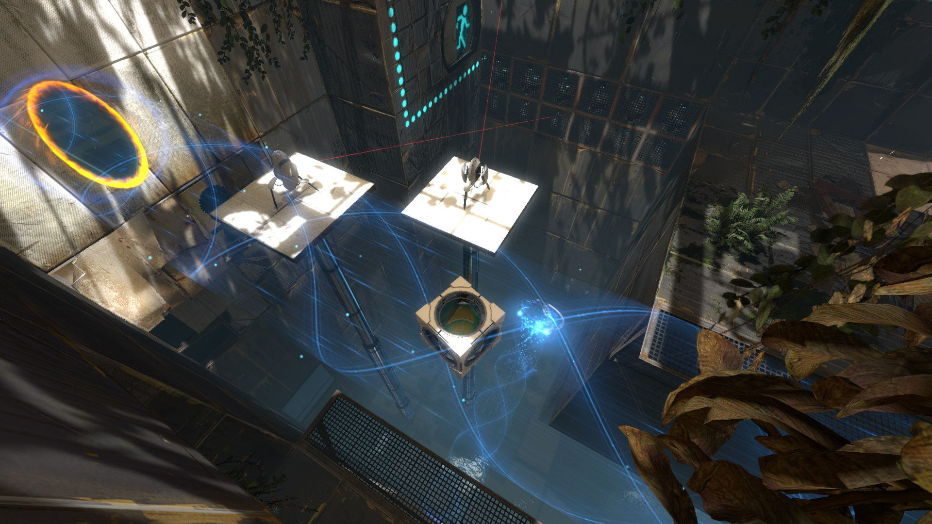 Steam games to play with your partner image: Portal 2
