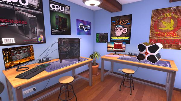 Download PC Building Simulator v1.12.3.1 + DLC's Cracked Torrent Direct Link PC Cover 3