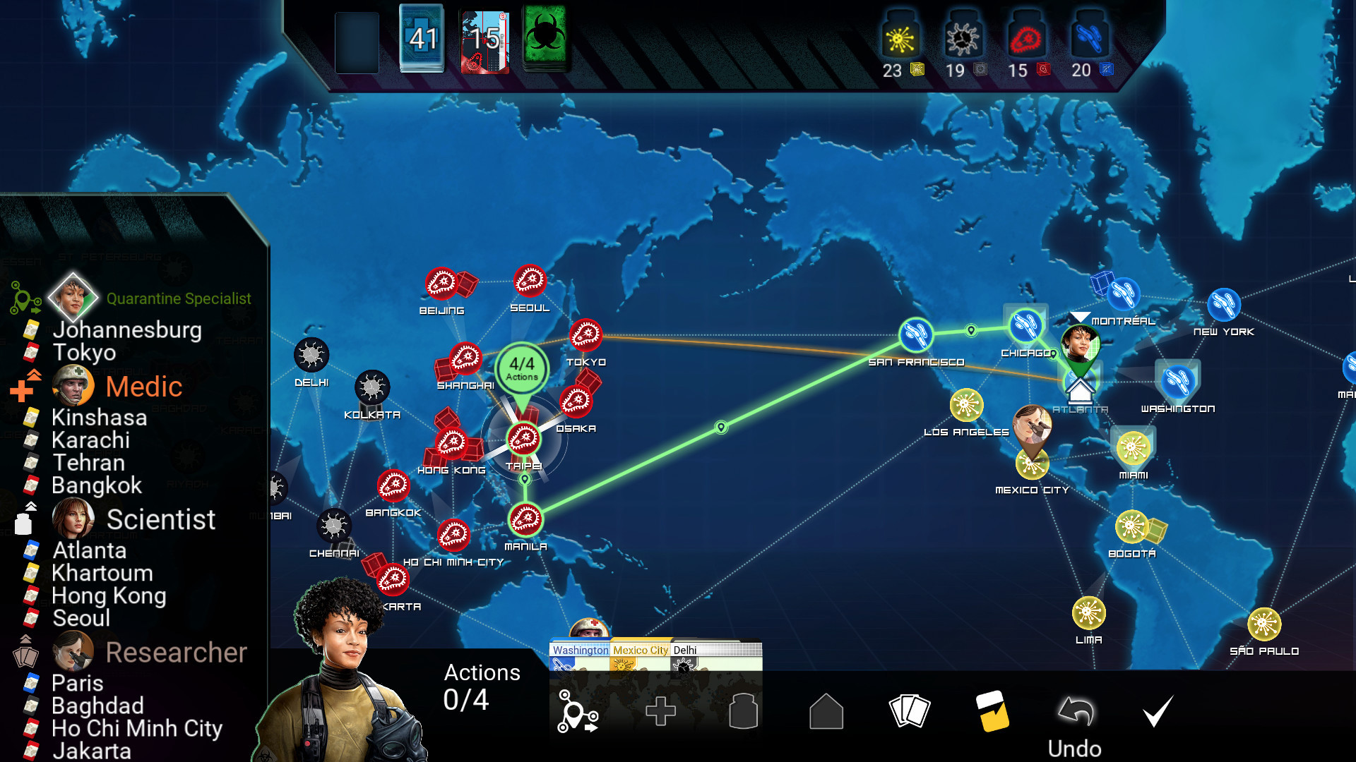Pandemic The Board Game On Steam